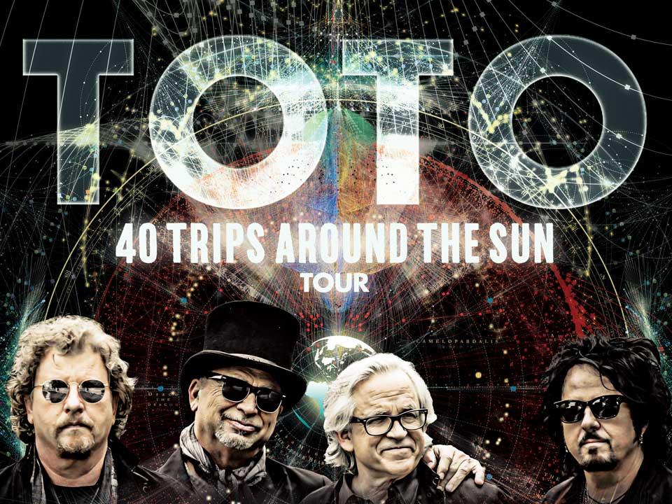 Resultado de imagem para toto 40 trips around the sun tour
